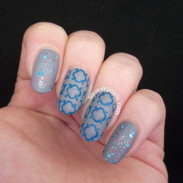 Quatrefoil nails37mini thumb370f