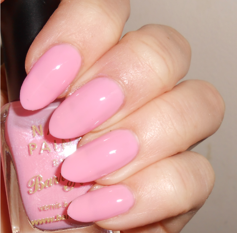 Barry M Strawberry Ice Cream Swatch by MyMintNails