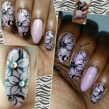 Just Pink.... nail art by Nails_Divine