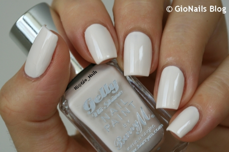 Barry M Coconut Swatch by Giovanna - GioNails