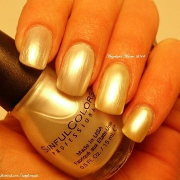Sinful Colors Tokyo Pearl Swatch by Angelique Adams