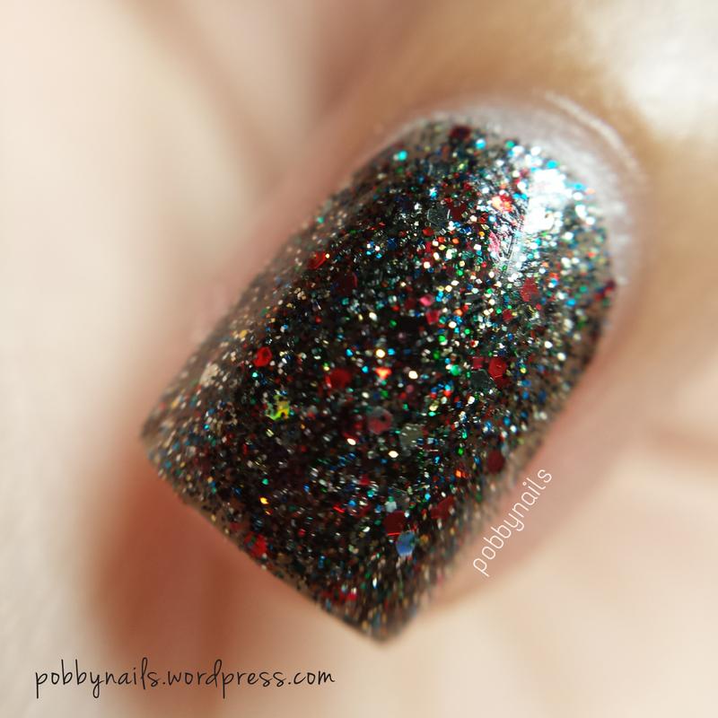 Shimmer Polish Vanessa Swatch by Priscilla  Lim