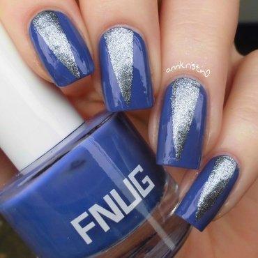 FNUG Tape Mani nail art by Ann-Kristin