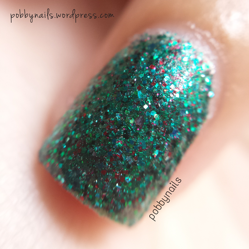 Shimmer Polish Cristina Swatch by Priscilla  Lim