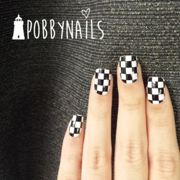 F1 #SWAG. nail art by Priscilla  Lim