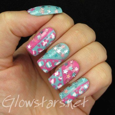 Pastel leopard print and stars 1 thumb370f