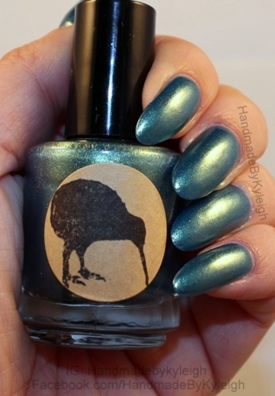 Polished Kiwi Lacquer Envy Swatch by  Kyleigh  'Handmade By Kyleigh'