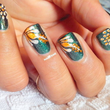 Kolormekarma Inspired nail art by Nailfame