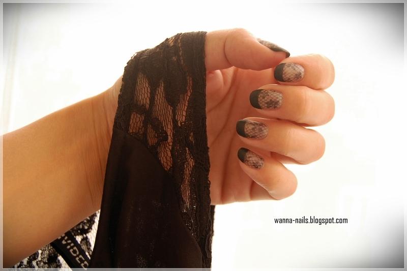 Undress me nail art by Oana Chiciu