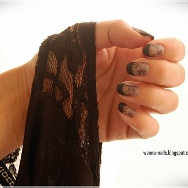 Undress me nail art by Oana Chiciu