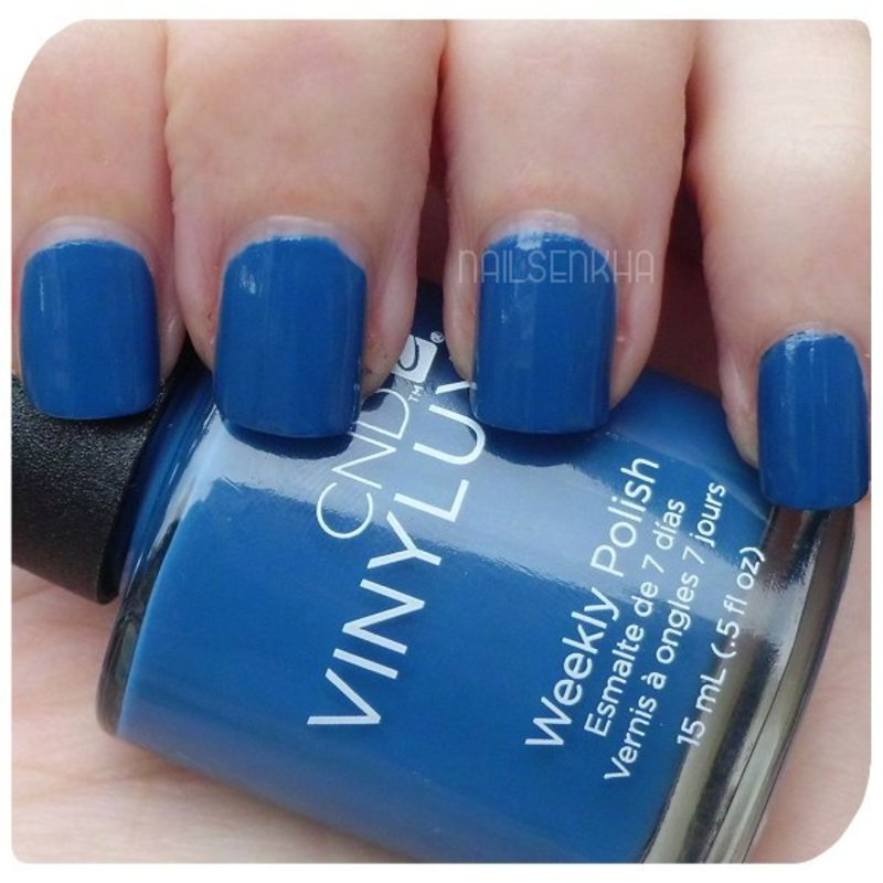 Cnd Vinylux Seaside Party #146 Swatch by Nailsenkha