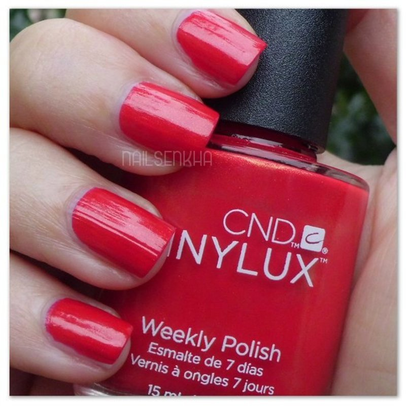 Cnd Vinylux Hollywood #119 Swatch by Nailsenkha