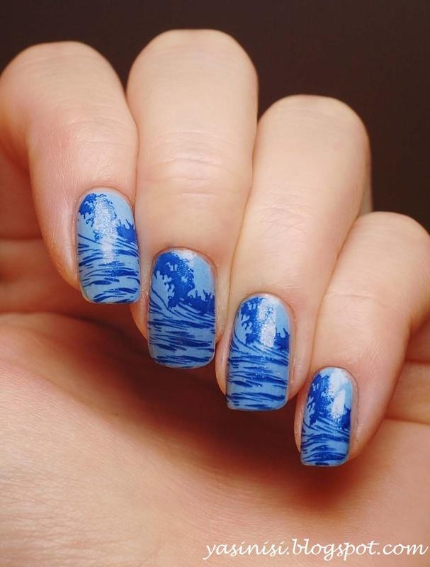 BM-504 nail art by Yasinisi