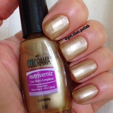 Colorama Champa Swatch by Luciana