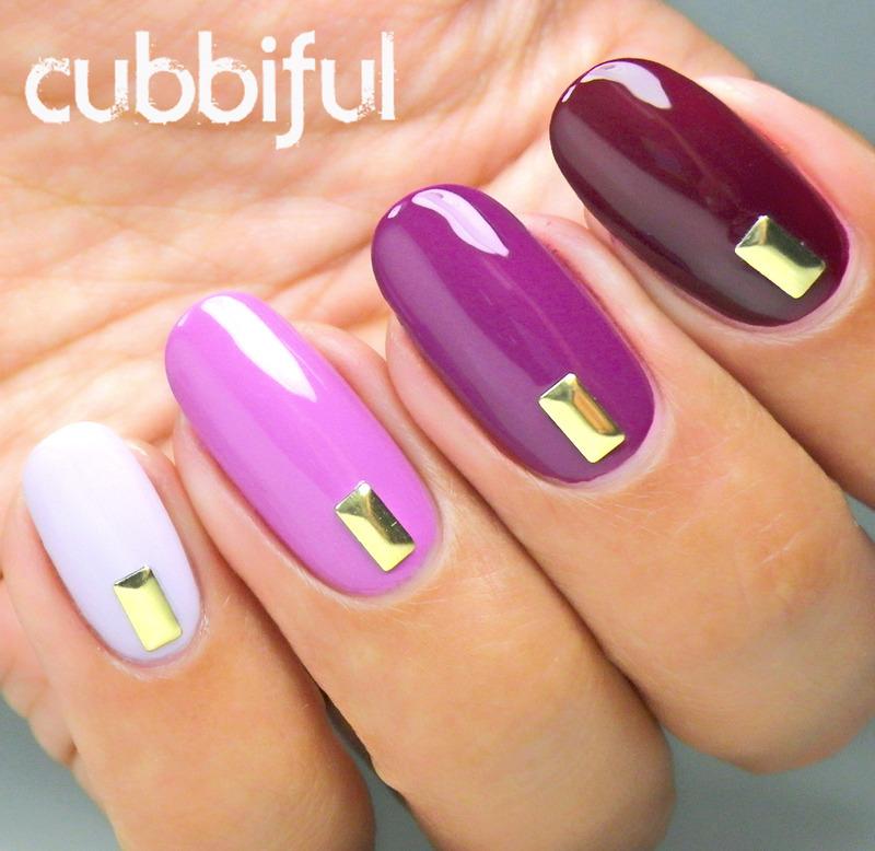 Fancy Autumn Ombre Nails nail art by Cubbiful