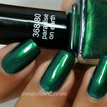 Anny Paradise on Earth Swatch by OnailArt
