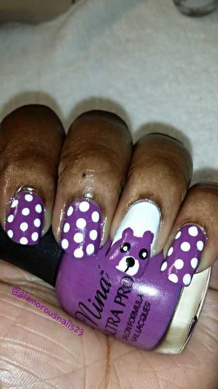 Back to School nail art by glamorousnails23