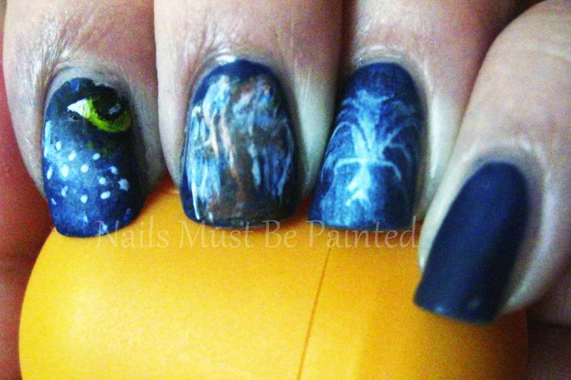 Avatar Nails Nail Art By Emily Nailpolis Museum Of Nail Art