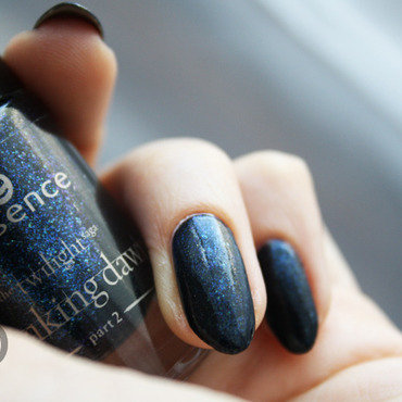 Essence The Twilight Saga Breaking Down Part 2 - 01 Jacob's Protection Swatch by Pat