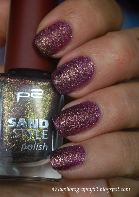p2 Sand Style Polish Seductive Swatch by Hana K.