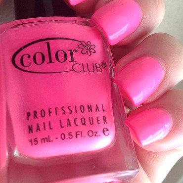Color Club flamingo Swatch by Dana  Nicole