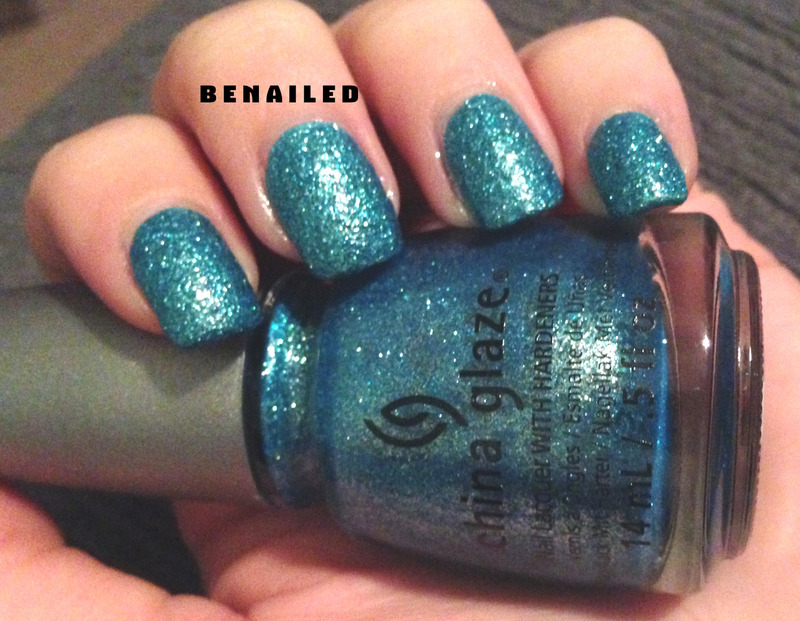China Glaze Seahorsin' around Swatch by Dana  Nicole