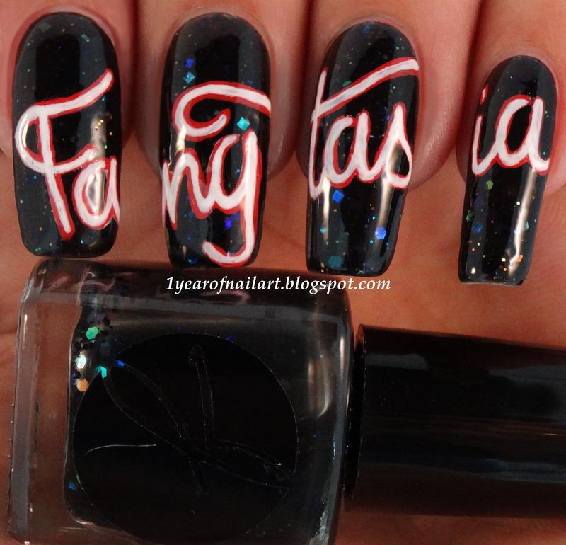 Fangtasia nail art by Margriet Sijperda