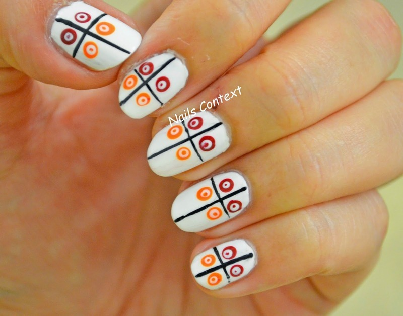 Dots n dots nail art by NailsContext