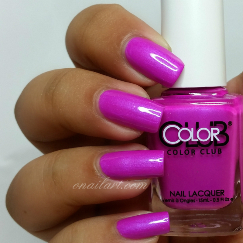 Color Club Right on Swatch by OnailArt