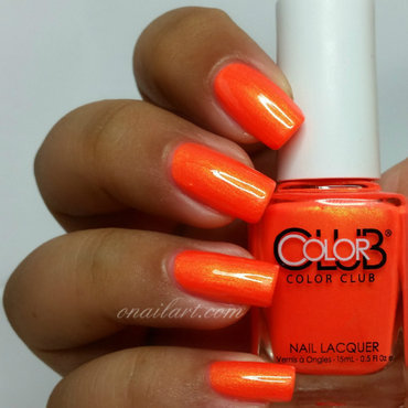Color Club Foxy mama Swatch by OnailArt