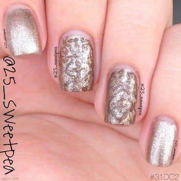 Metallic Nails #31DC2 nail art by 25_sweetpea