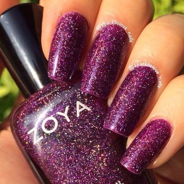 "Zoya aurora Swatch by Amanda ""Sparklicious Nails"""