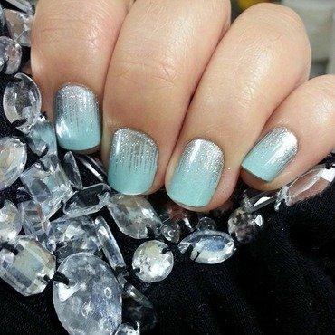 Jamberry Nails Iced nail art by Karenkay02