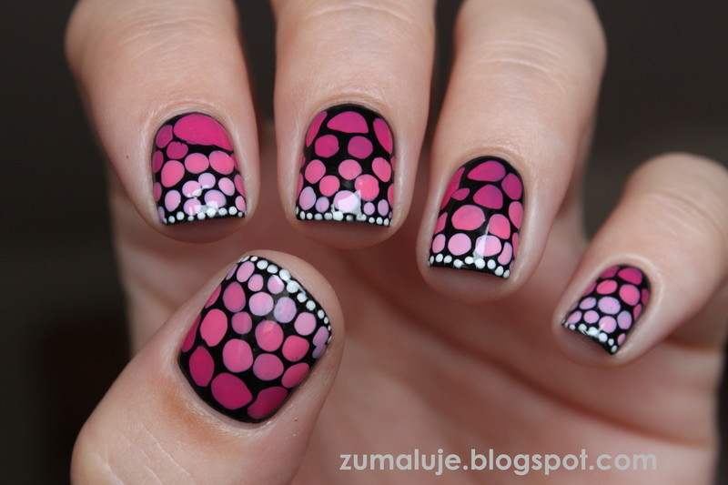 i'm a butterfly nail art by Zu