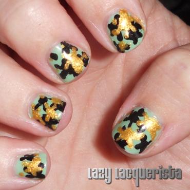 Splatter Nail Art nail art by Relle Chastain