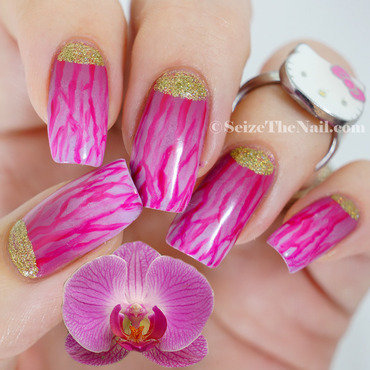 Radiand Orchid nail art by Bella Seizethenail