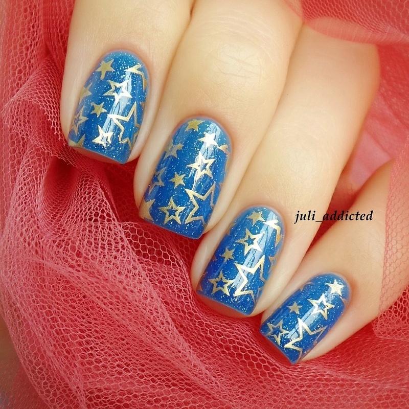 #32 nail art by Juli