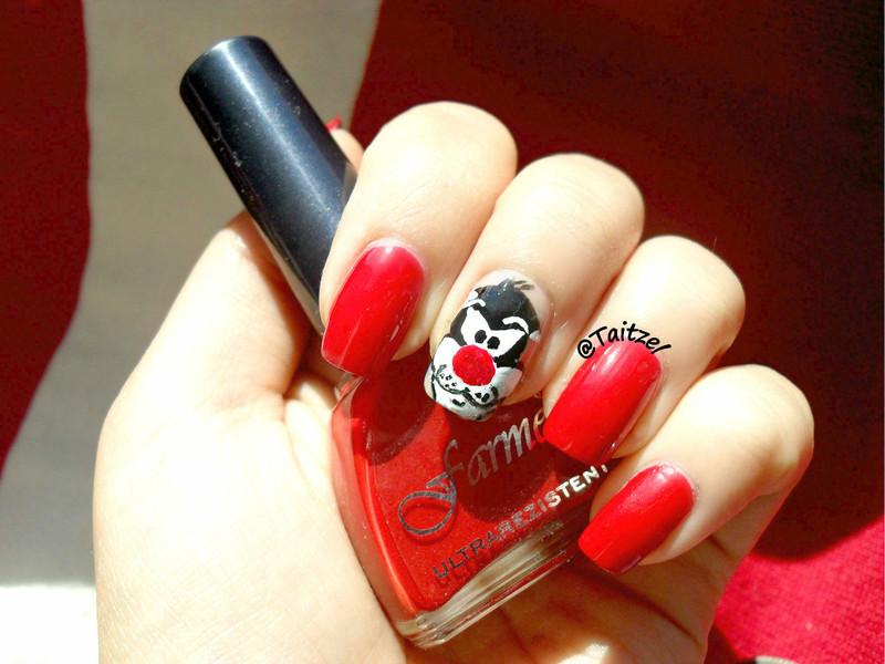 Sylvester nail art by Teo