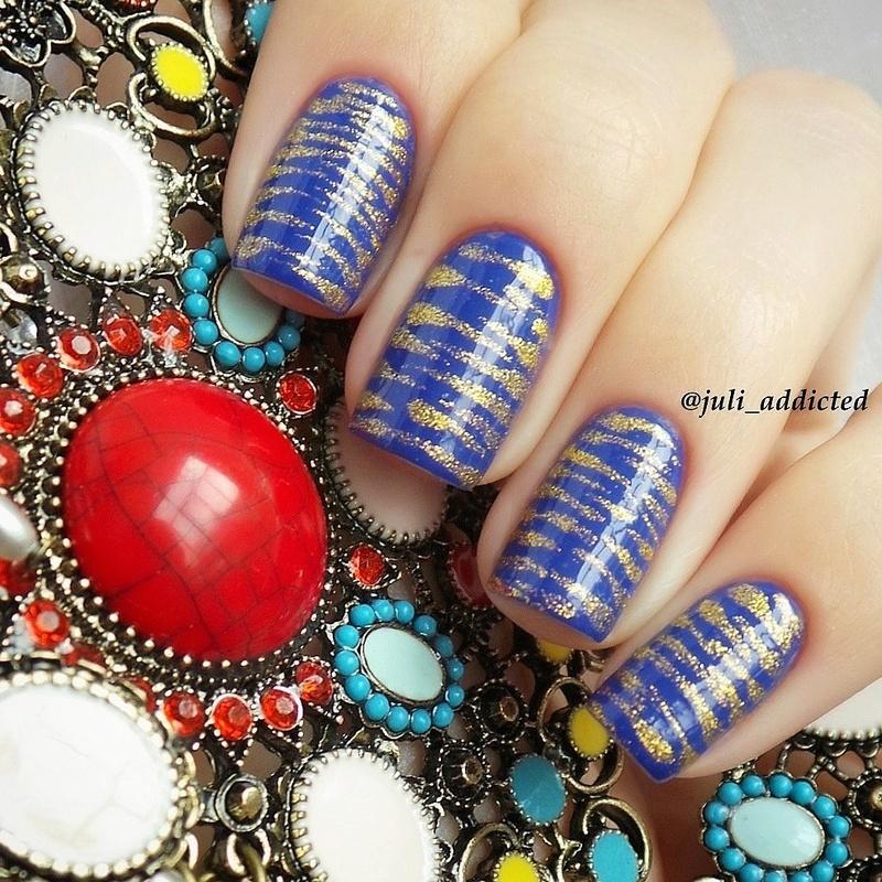 #33 nail art by Juli