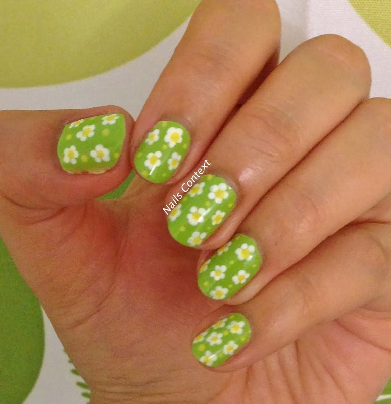 Floral NailArt nail art by NailsContext