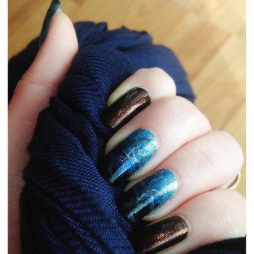 Eerie Manicure nail art by Bazavan Diana