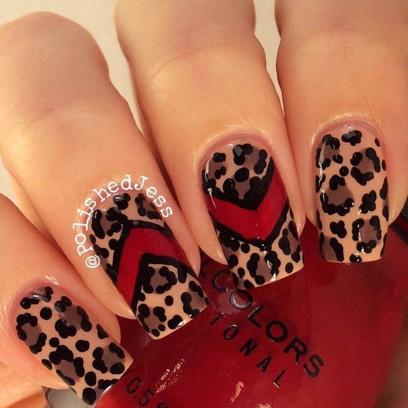 Givenchy Inspired nail art by PolishedJess