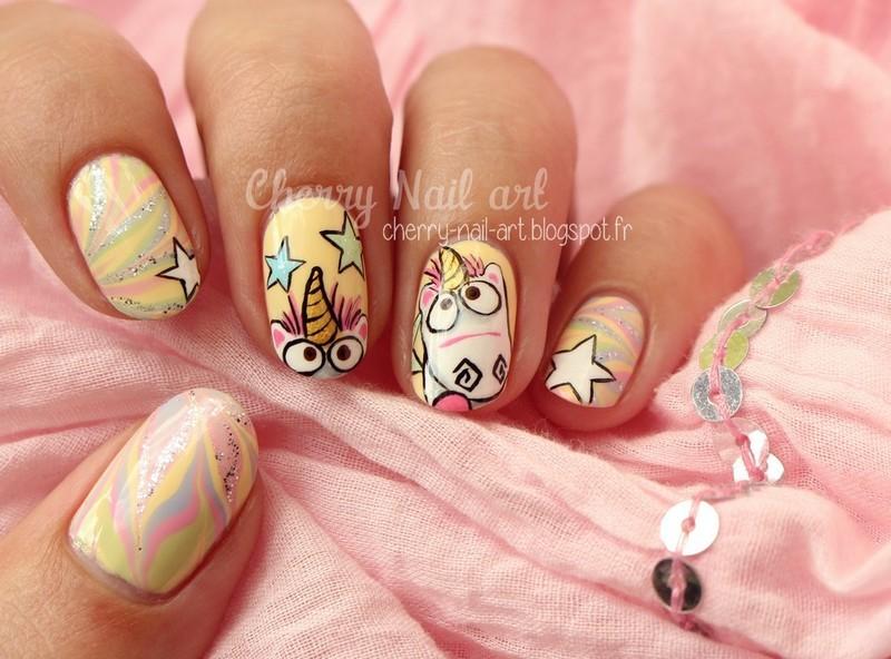 Αποτέλεσμα εικόνας για unicorn nails