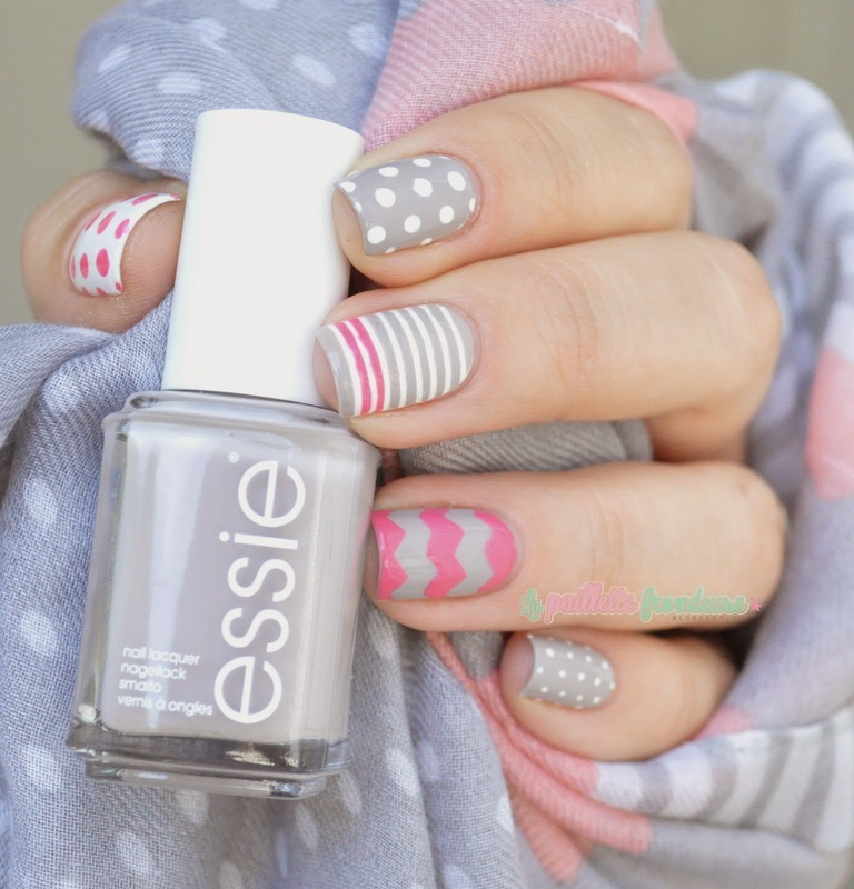 In the sweetness nail art by nathalie lapaillettefrondeuse