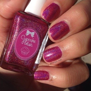Cupcakepolish America the beautiful Swatch by Massiel Pena