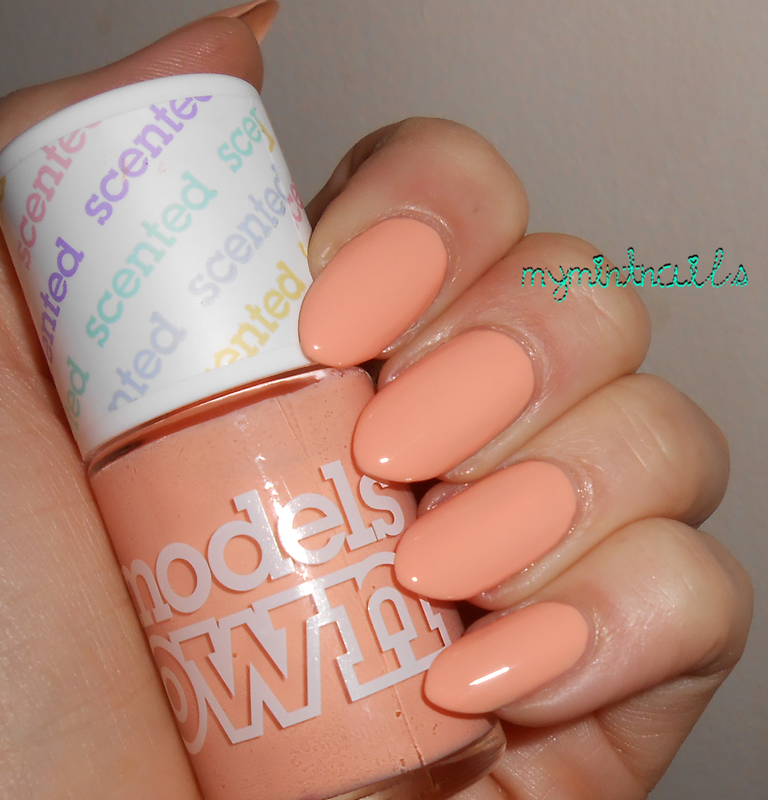 Models Own Peach Melba Swatch by MyMintNails