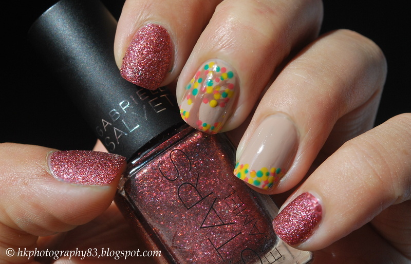 Autumn nail design nail art by Hana K.