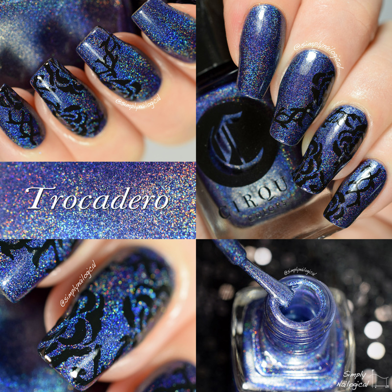 Cirque Trocadero Swatch by simplynailogical