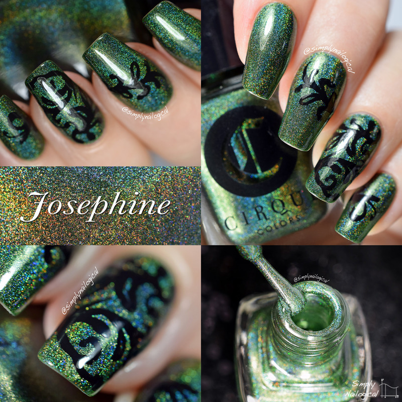 Cirque Josephine Swatch by simplynailogical