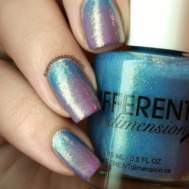 Different gradient nail art by sevenseasofpolish